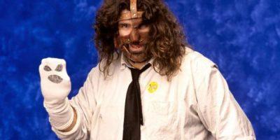 """Foley es conocido como la """"Leyenda del hardcore"""" Foto:WWE"""