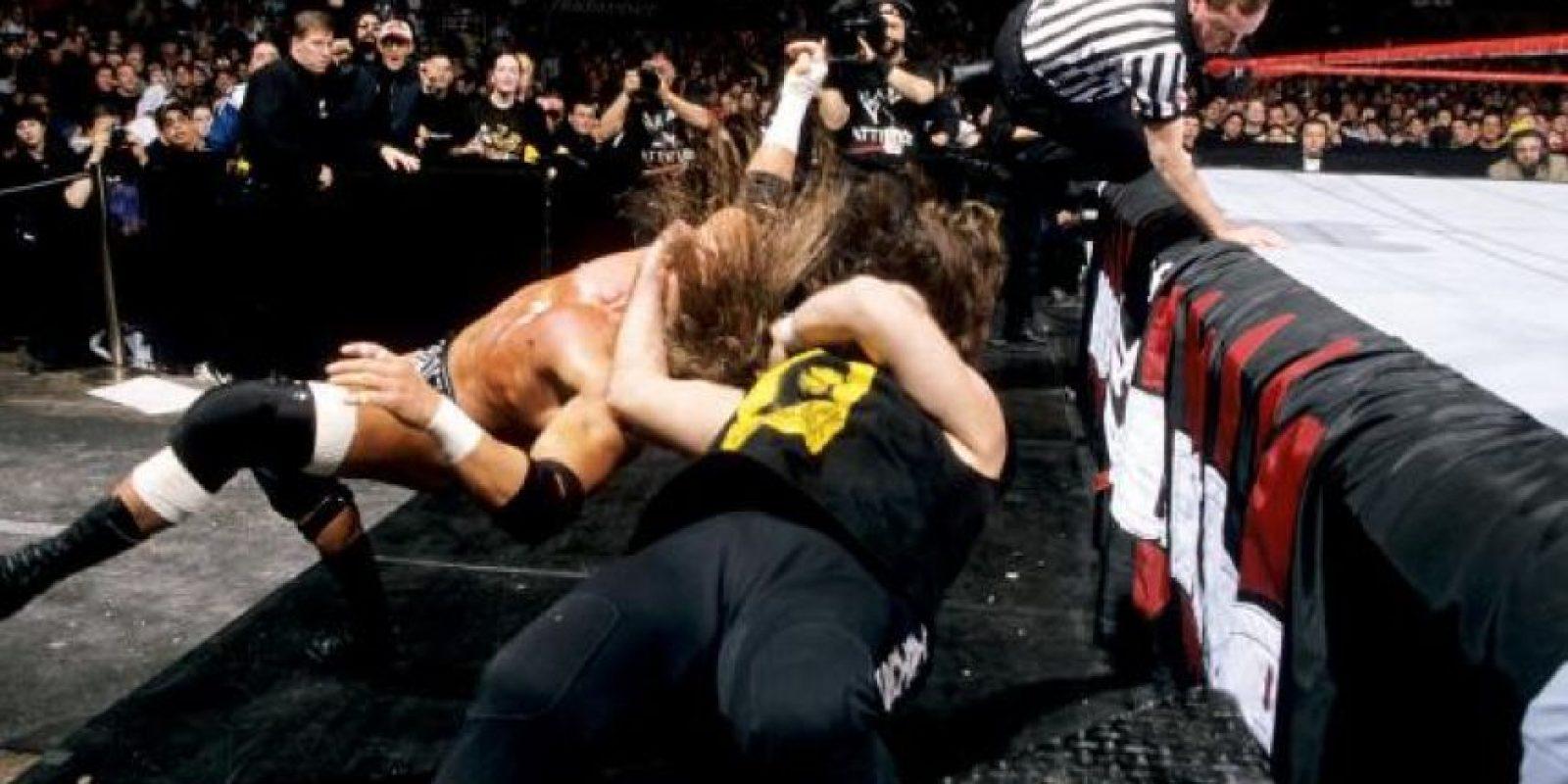 Arriesgaba la vida en los cuadriláteros Foto:WWE