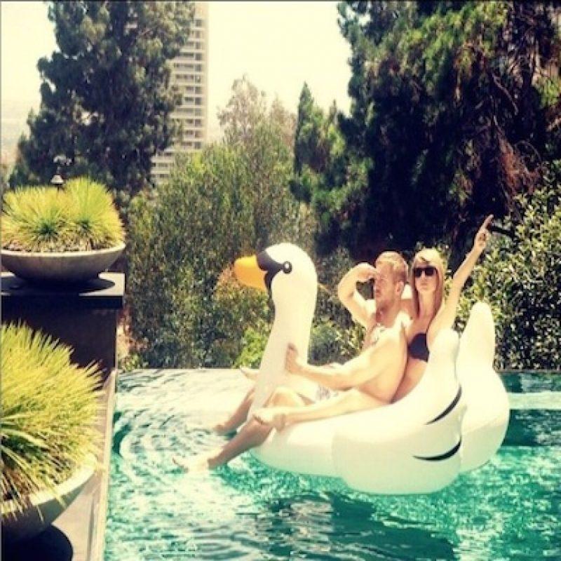 Taylor Swift y su novio, el DJ Calvin Harris, son la pareja mejor pagada. Foto:Instagram/TaylorSwift