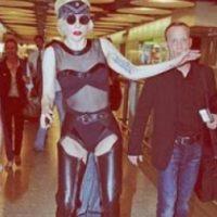 Lady Gaga usando exactamente lo mismo. Foto:vía Listal