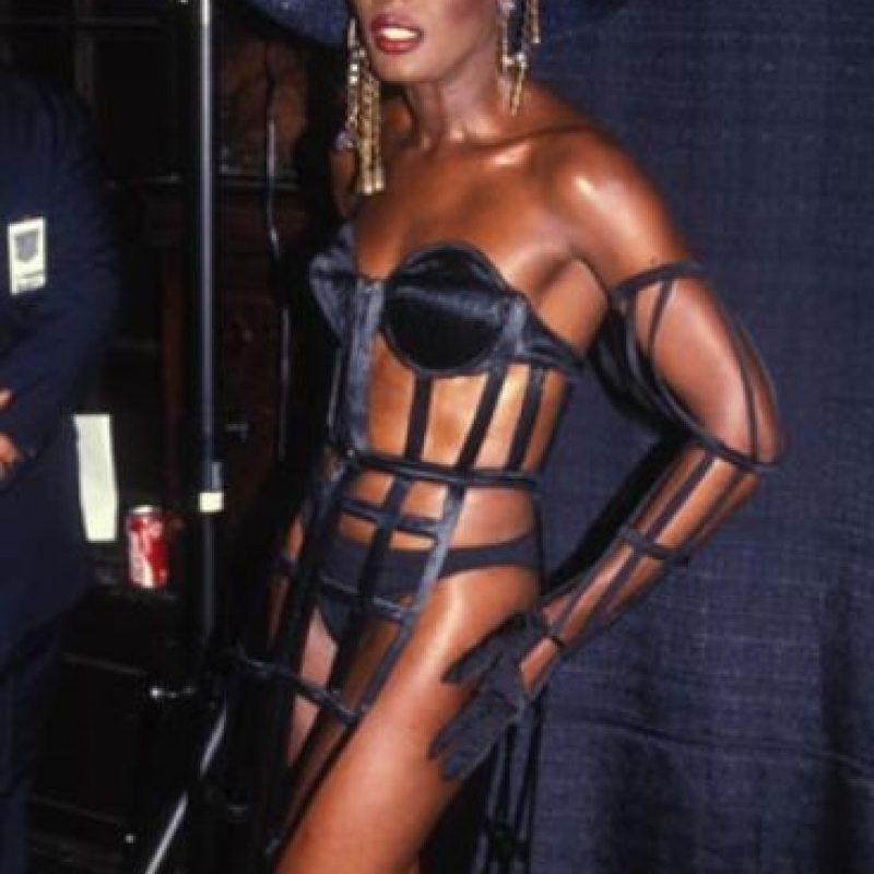 Grace Jones, en los años 80. Foto:vía Listal