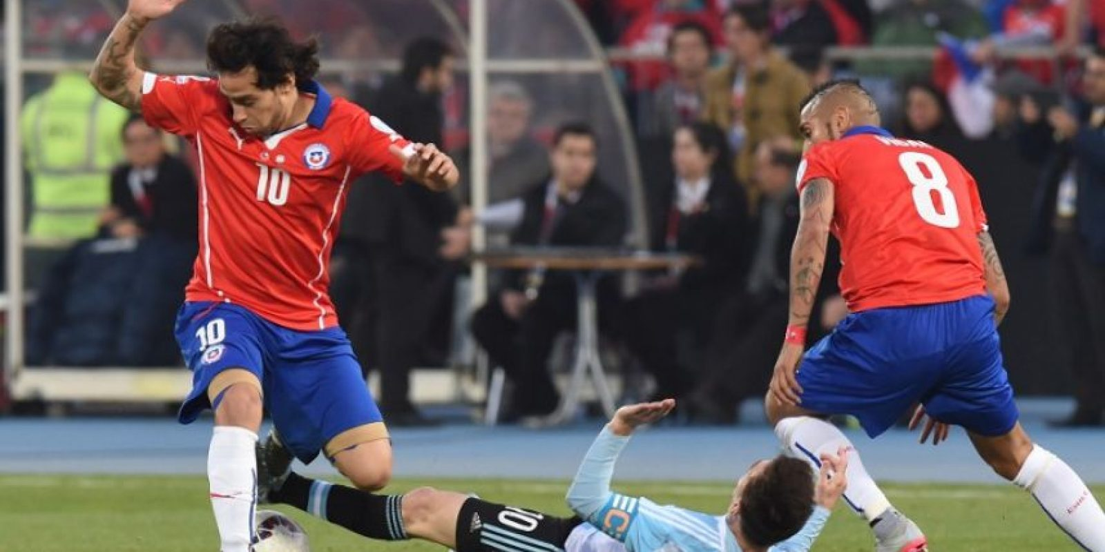 La final se decidió desde los penales Foto:AFP