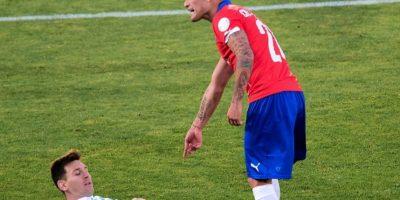 "Solo Messi marcó por la ""Albiceleste"" Foto:AFP"