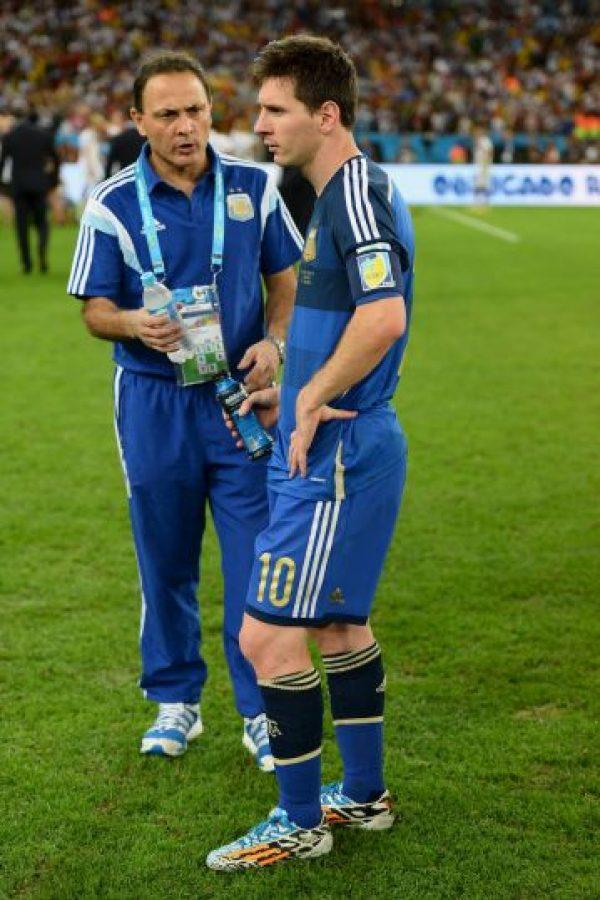 """Mundial Brasil 2014. El 13 de julio de 2014 la """"Albiceleste"""" cayó 1-0 ante Alemania en el partido que disputaba la Copa del Mundo Foto:Getty Images"""