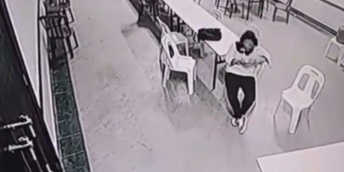 VIDEO: Cámaras de un hotel registran un supuesto ataque de espíritus