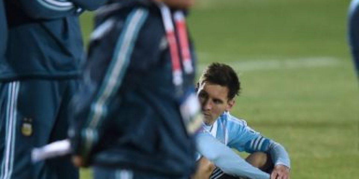 Lionel Messi causa polémica en las redes por su última final perdida con Argentina