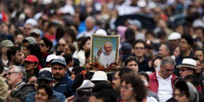 El papa declaró que su viaje estaba inspirado en las personas que viven por una difícil situación. Foto:AFP