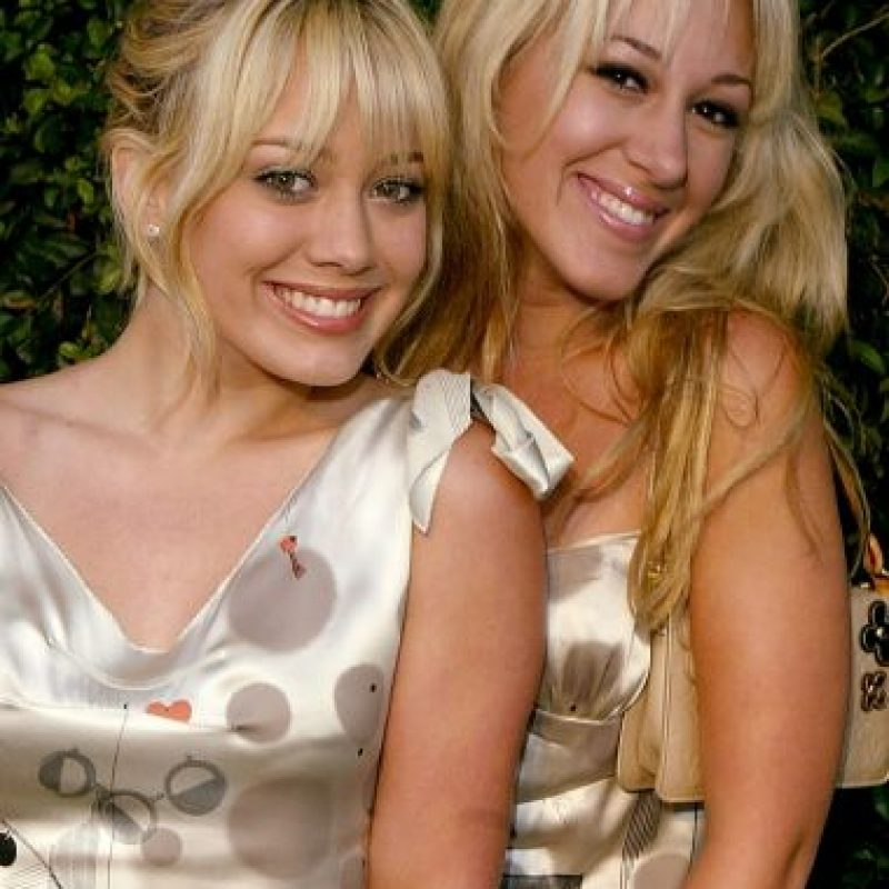 Hilary Duff y Haylie Duff Foto: Getty Images