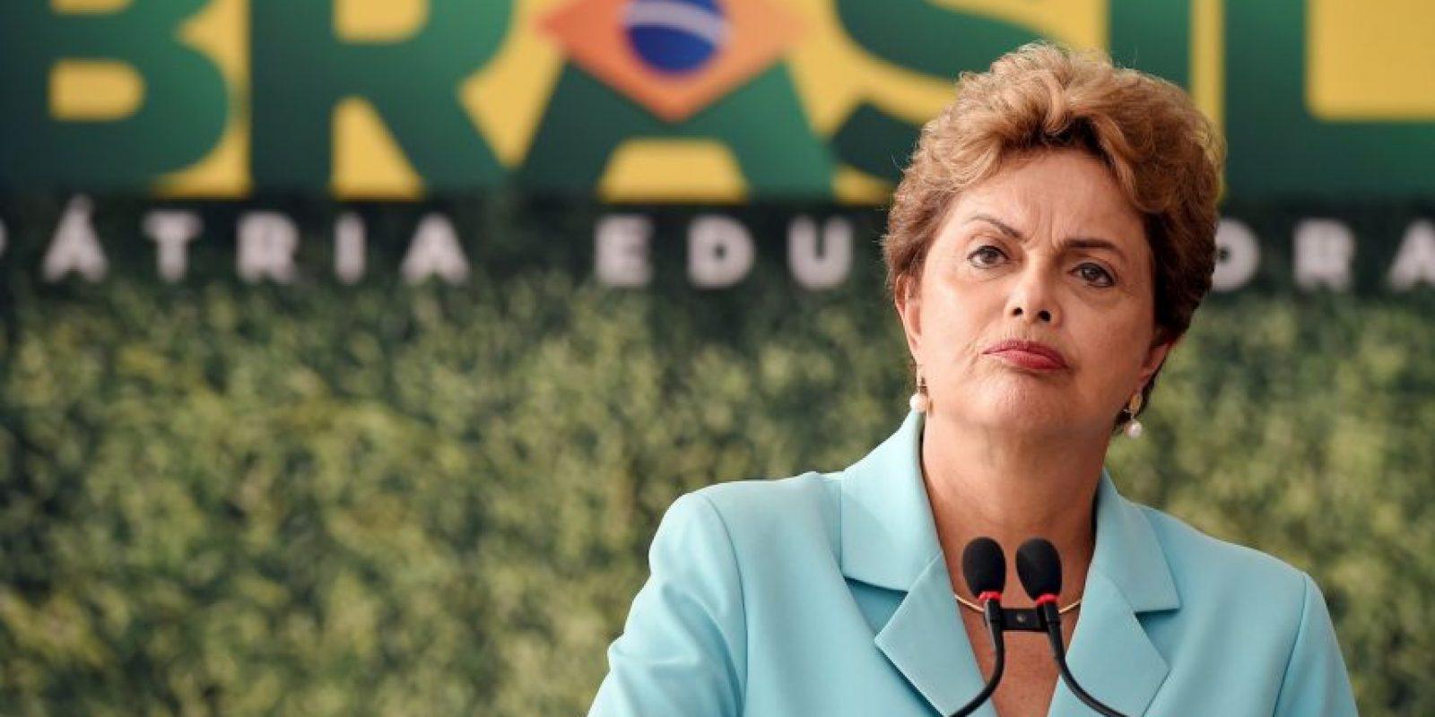 Rechazó las acusaciones que la involucran con casos de corrupción en Petrobras Foto:AFP