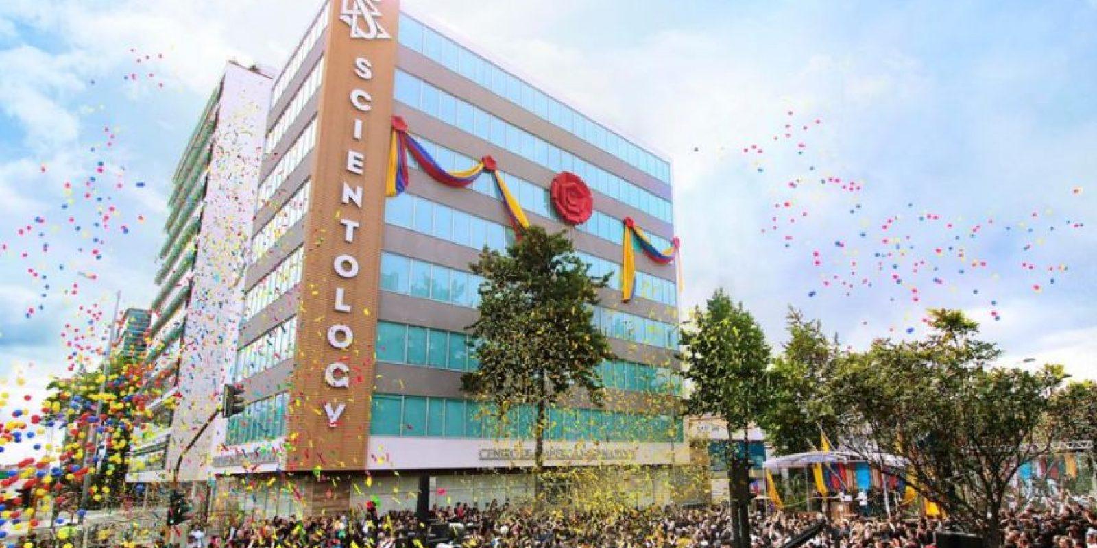 Así fue la inauguración en Bogotá. Foto:Cortesía Iglesia de Scientology International