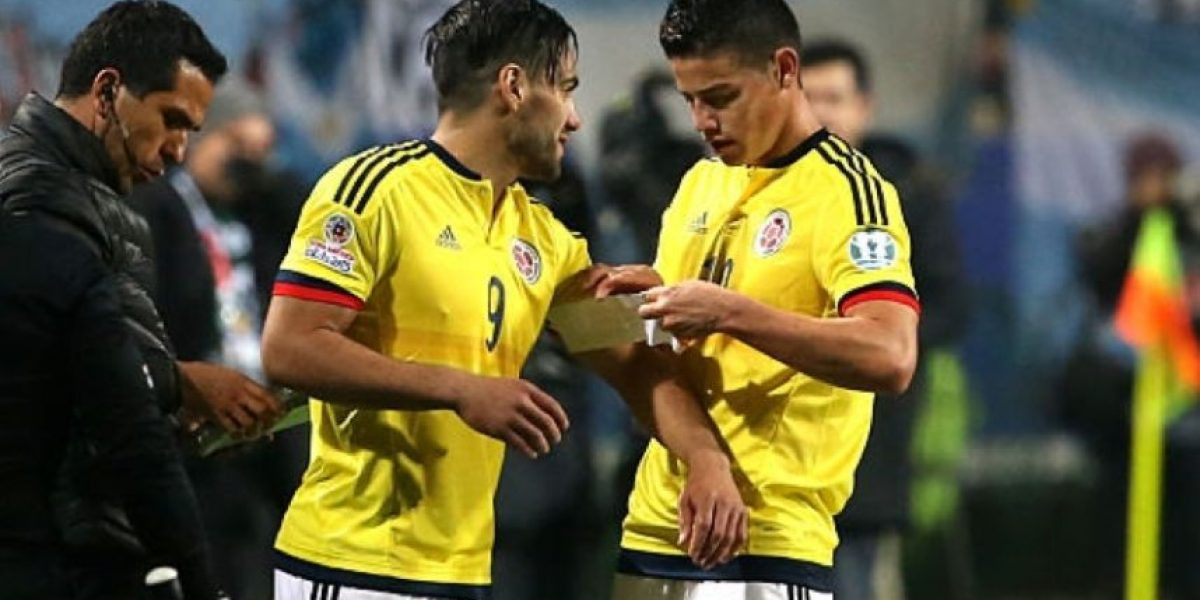 ¡QUÉ TRISTE! Falcao y James en el 11 NO ideal de Copa América