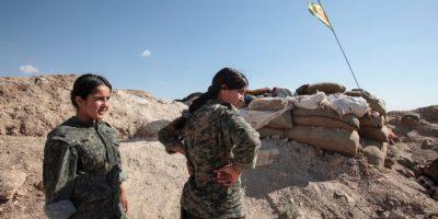 4. Las YPG han recibido ayuda de Estados Unidos, esto a través del envío de armas y con ataques aéreos. Foto:Getty Images