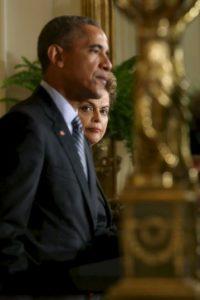Fue la primera vez que ambos mandatarios sostuvieron un encuentro bilateral desde el escándalo Foto:Getty Images