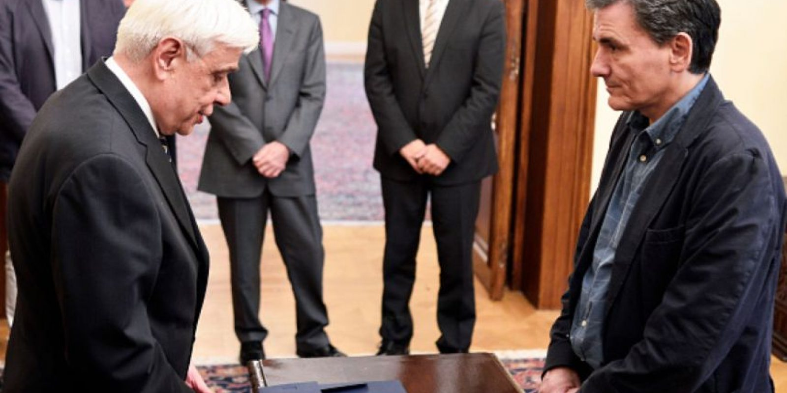 Los griegos rechazaron la política de austeridad impuesta desde Berlín y Bruselas. Foto:vía Getty Images