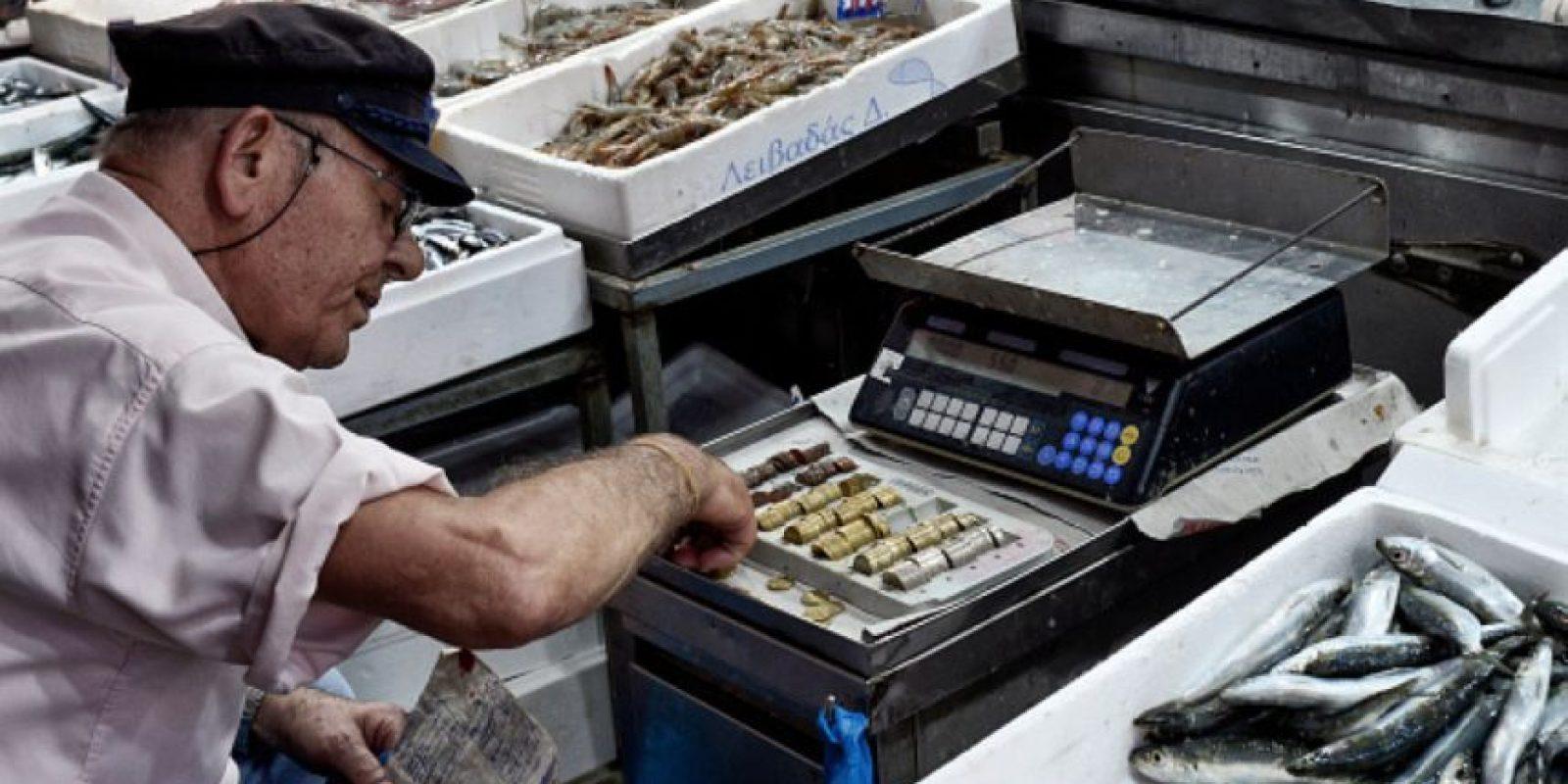 """Grecia decidió. Voto """"no"""" por las medidas económicas del Eurogrupo. Foto:vía Getty Images"""