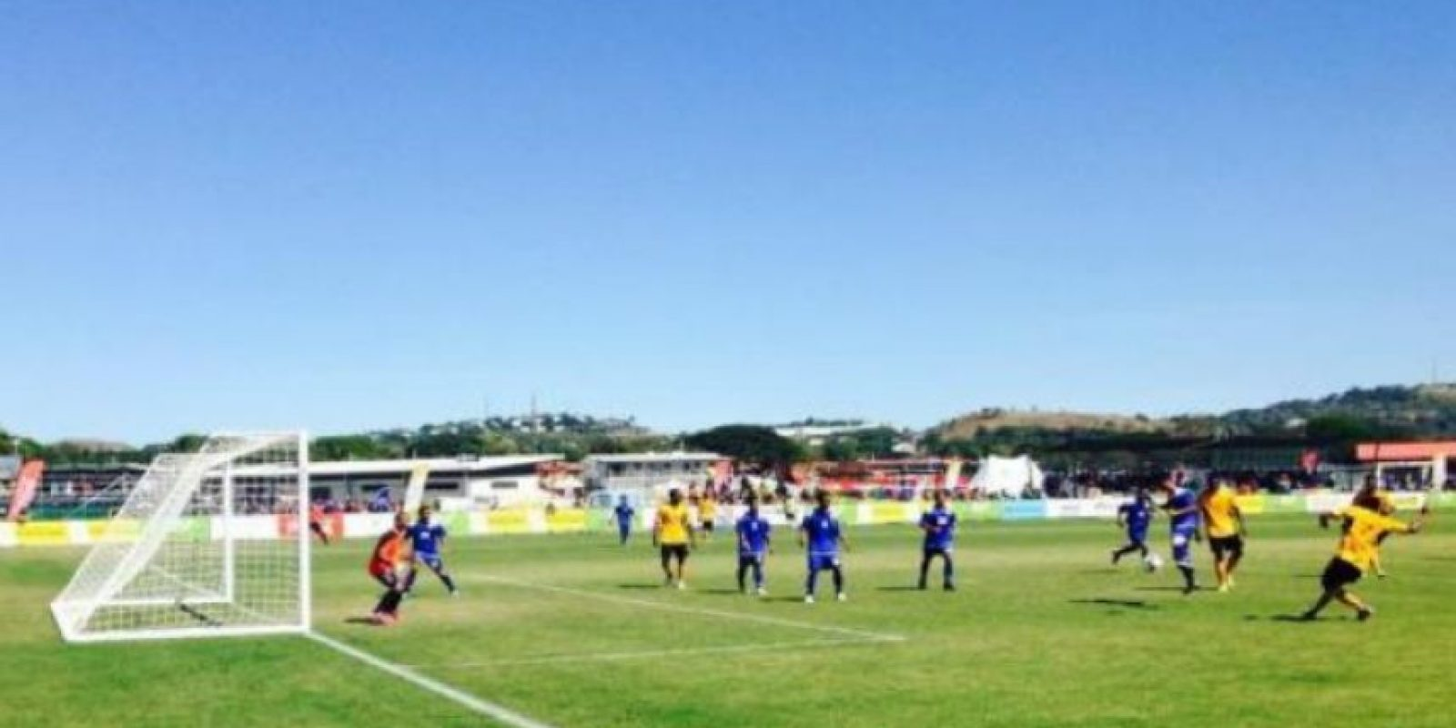 La selección recibió 30 goles o más por partido Foto:Vía twitter.com/PORTMORESBY2015