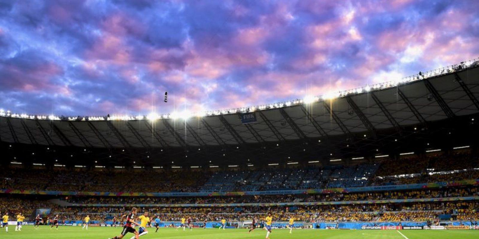 Este recinto albergó una de las semifinales de la Copa del Mundo de Brasil 2014, la cual disputaron el equipo local y Alemania. Foto:Getty Images