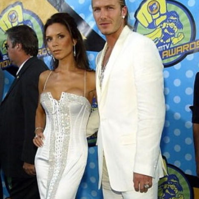 La melena hacia atrás, el gel… parecían protagonistas de telenovela. Foto:vía Getty Images