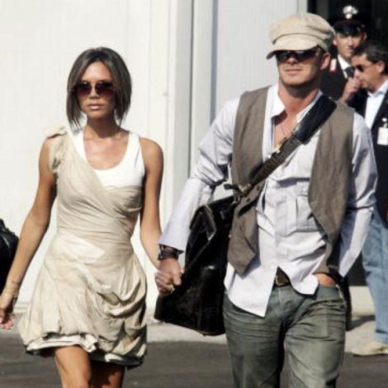 Lo peor fue cuando se mudaron a Los Ángeles: querían parecer cool y ricos a toda costa. Y lo eran, pero al punto de llevar esto. Foto:vía Getty Images