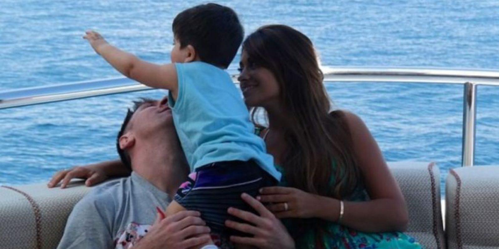 Esperan al segundo hijo de la pareja Foto:Vía instagram.com/antoroccuzzo88