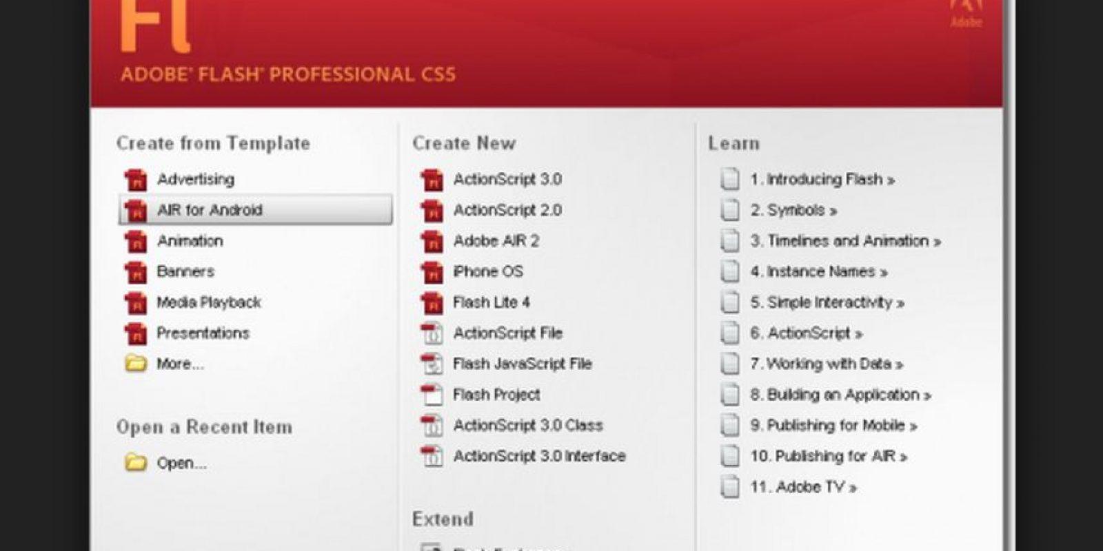 Adobe dijo que espera tener actualizaciones disponibles el 8 de julio Foto:Adobe