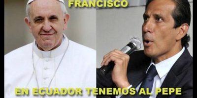 Memes de la visita del papa Francisco a Ecuador, Bolivia y Perú