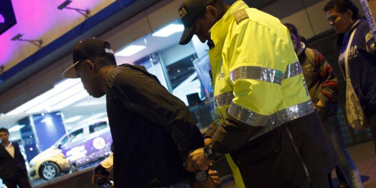 FOTOS: Esta sería una peligrosa banda de ladrones del centro financiero de Bogotá