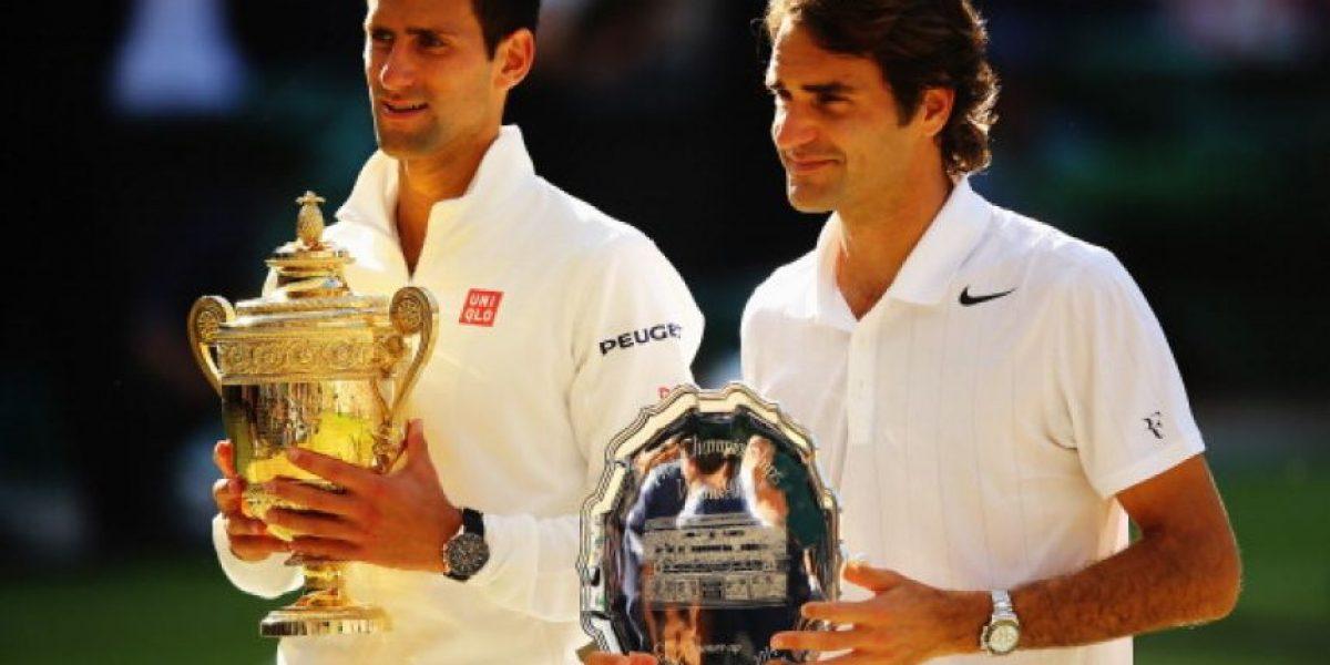 Djokovic vs. Federer: Las mejores fotos de los guapos finalistas de Wimbledon