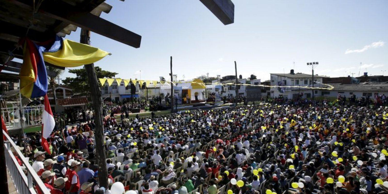 En el lugar hubo cerca de cuatro mil personas Foto:AP