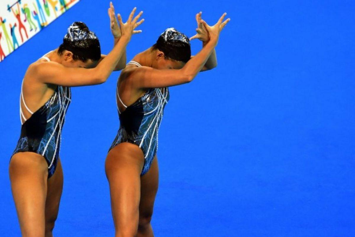 Una de ellas es el nado sincronizado Foto:Vía twitter.com/TO2015_es