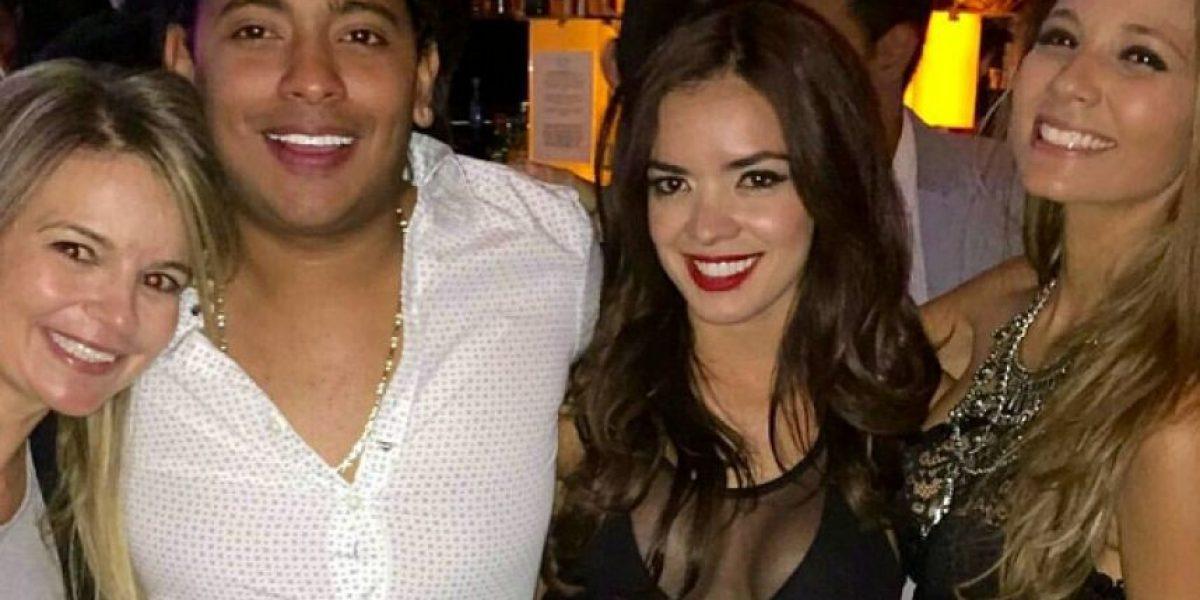 Elianis Garrido mostró mucha piel en la fiesta de TVyNovelas