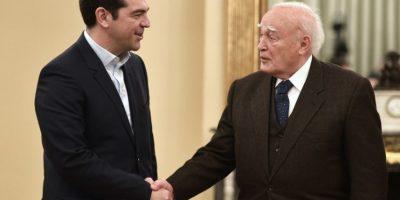 Es desde el 26 de enero el primer ministro de Grecia. Sucedió a Antonis Samarás Foto:AFP