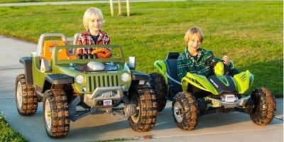 Jeep de Power Wheels