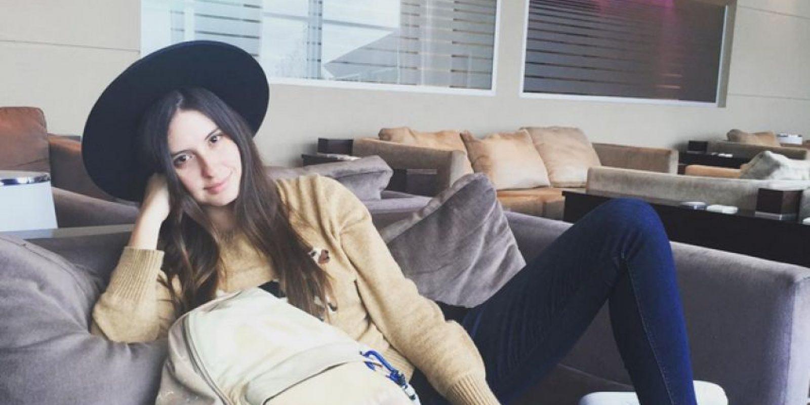 Taliana Vargas siempre lleva puesta una prenda de diseño nacional. Foto:Taliana Vargas Instagram