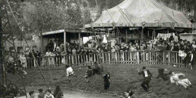 Los parques de atracciones mécanicas en los años 50 y 60. Foto:Fotos antiguas Bogotá