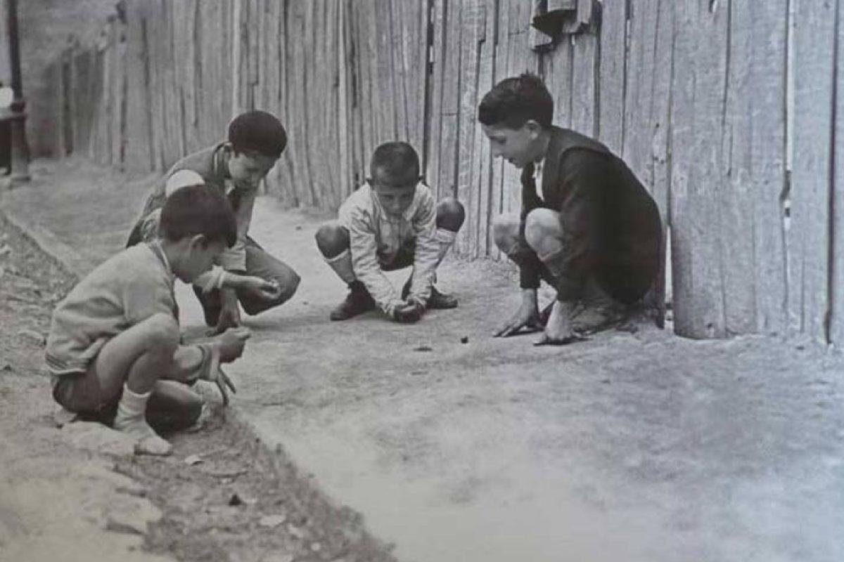 Así se entretenían los niños de la Bogotá de la década de 1950. Foto:Fotos antiguas Bogotá