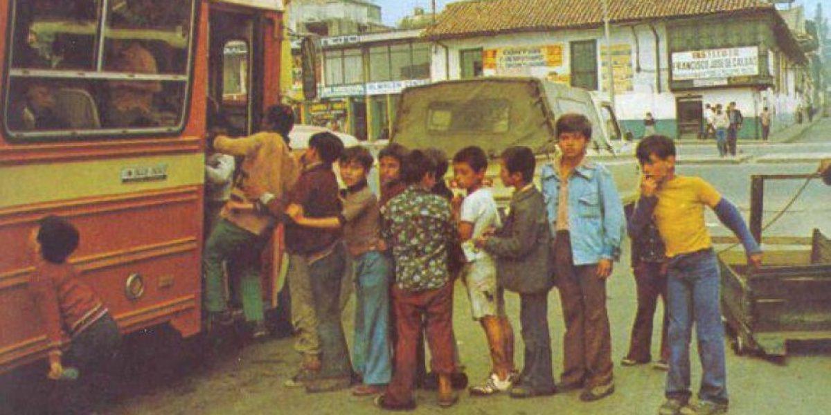La Bogotá del recuerdo en imágenes
