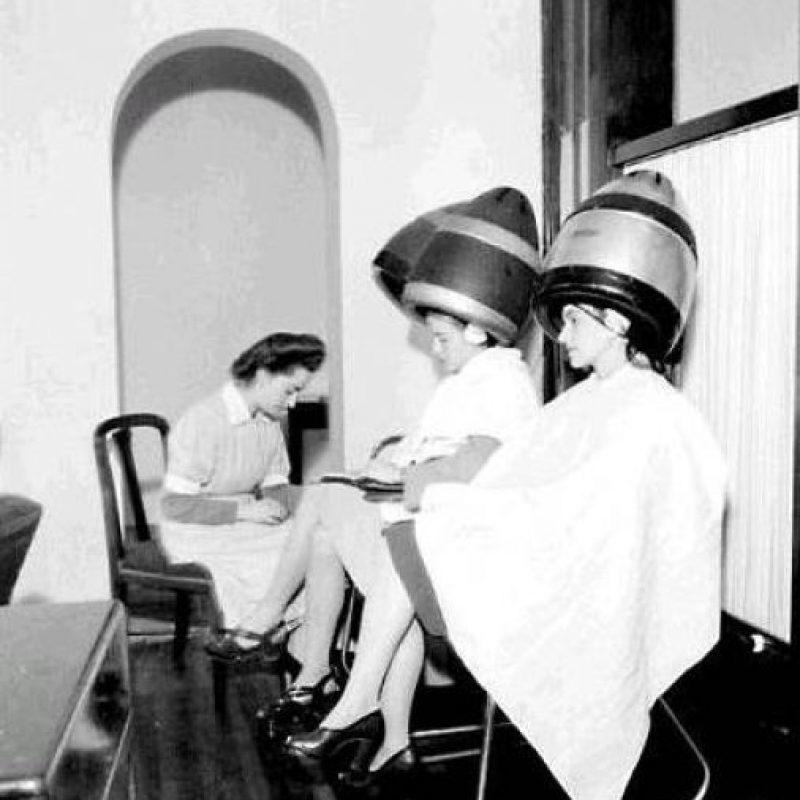 Las salas de belleza en los años 60. Foto:Fotos antiguas Bogotá