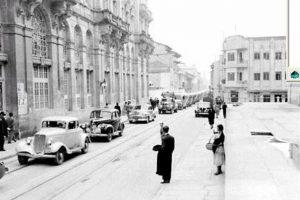 Aunque parezca una foto de Londres, esta imagen es del centro de Bogotá en los años 30. Foto:Fotos antiguas Bogotá