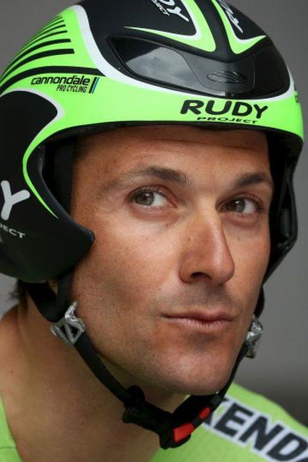 Ivan Basso es un ciclista italiano de 37 años. Foto:Getty Images