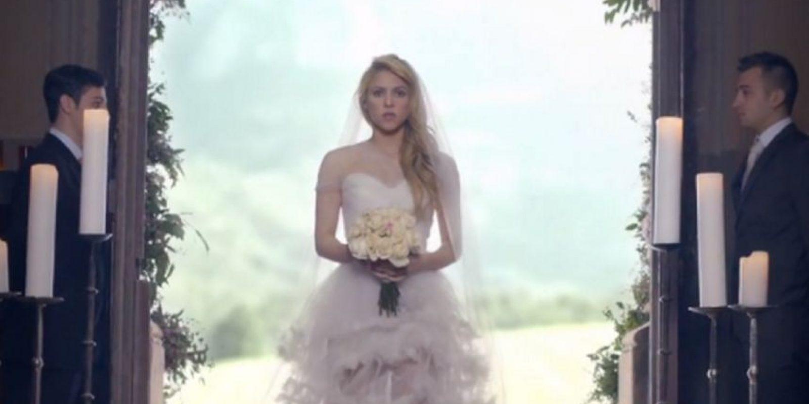 Shakira. Foto:vía Shakira VEVO