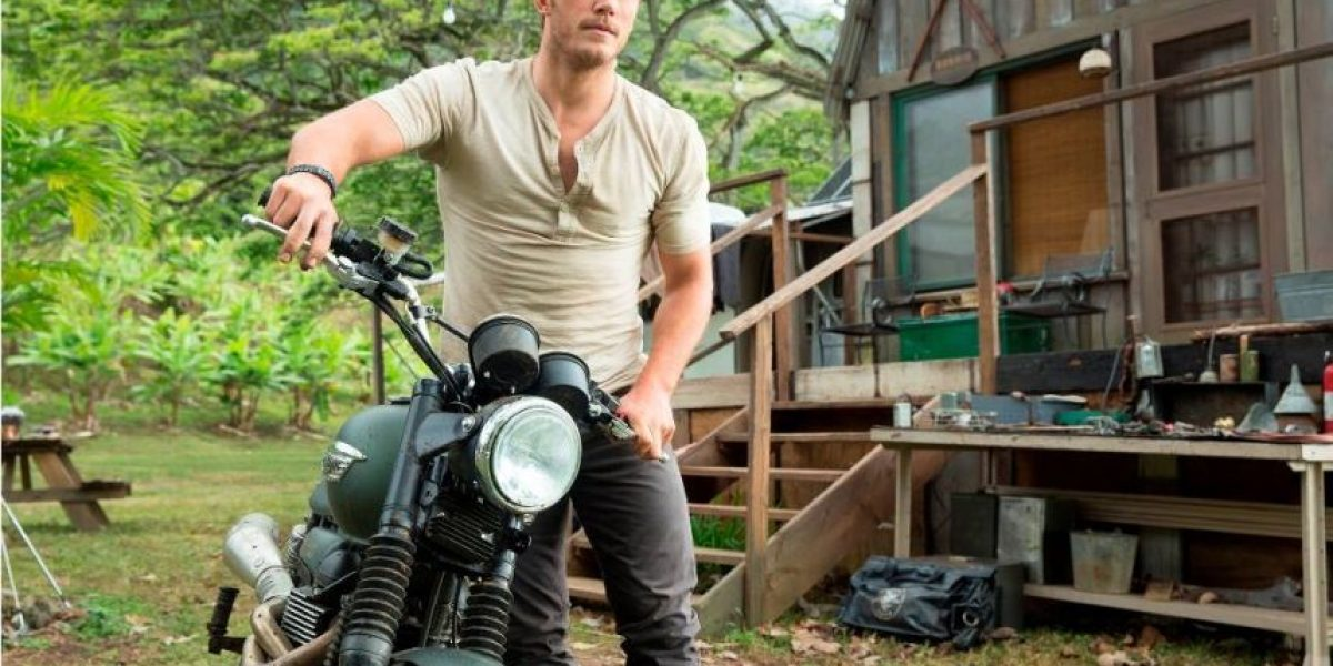 Chris Pratt revivió las escenas de