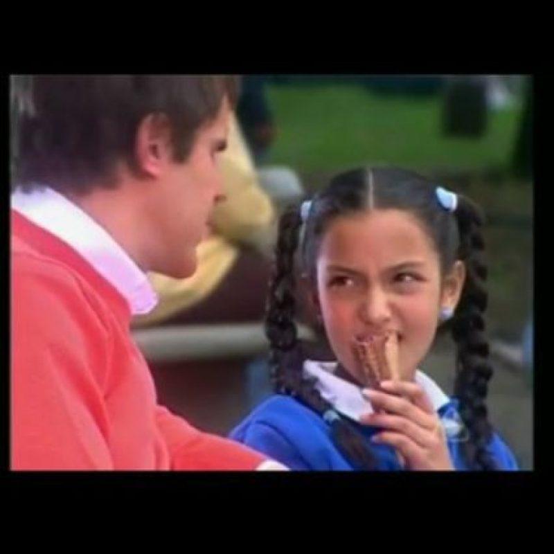 """En 2006, le dio vida a la pequela """"Lucía"""" en la telenovela colombiana """"La hija del Mariachi"""". Foto:Vía instagram.com/mondodilaura"""