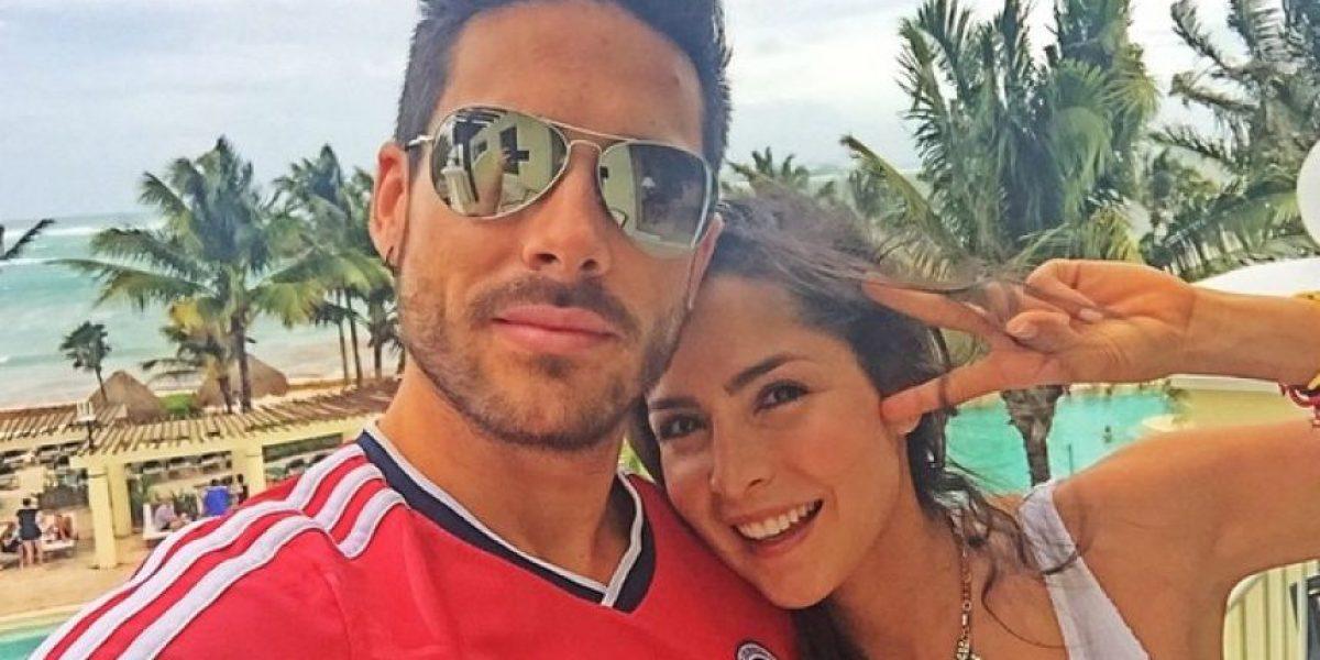 Esta fue la sorpresa de Sebastián Caicedo para Carmen Villalobos