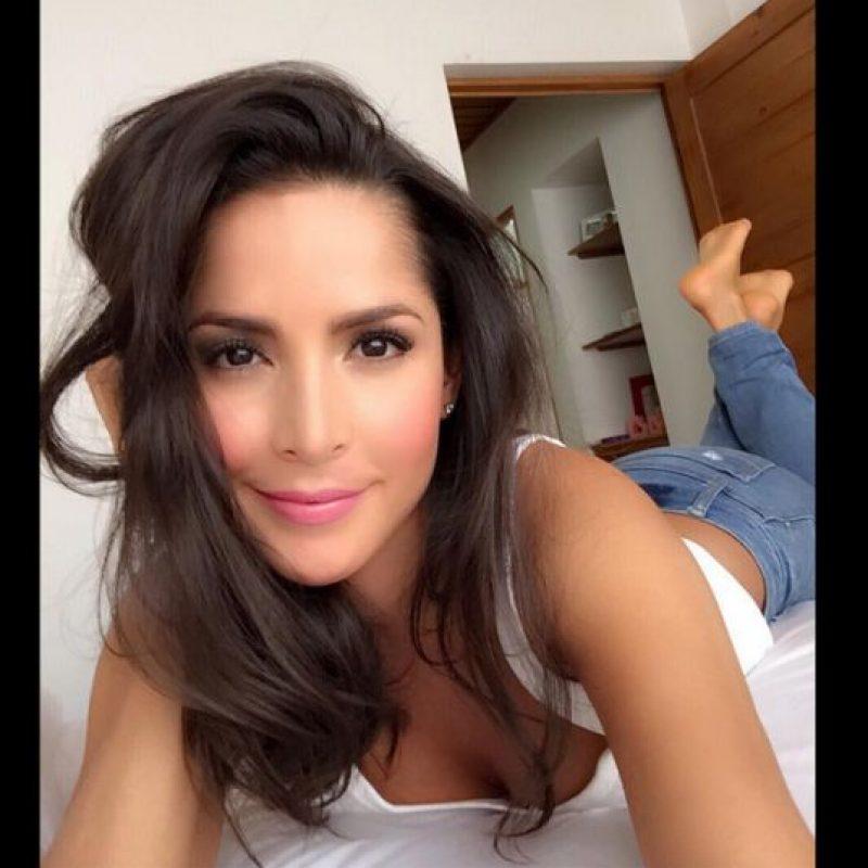 Disfruta de su relación con Sebastián Caicedo. Foto:Instagram Carmen Villalobos