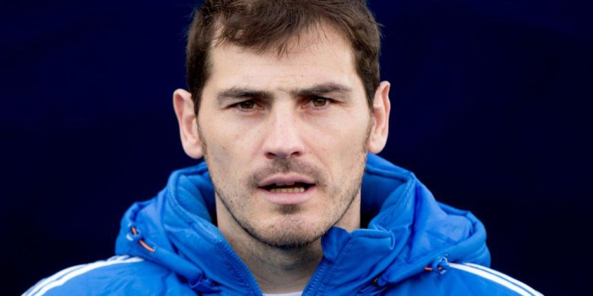 Primeras imágenes de Iker Casillas con la camiseta del Porto