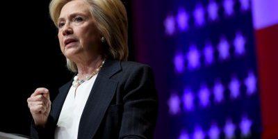 Sin embargo, si se enfrentara a la precandidata demócrata, Hillary Clinton aún perdería. Foto:Getty Images
