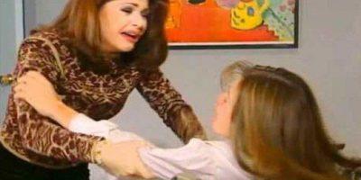 """La escena de la """"Maldita Lisiada"""" es un clásico generacional. Pertenece a la telenovela """"María la del Barrio"""", de 1995. Foto:vía Canal de las Estrellas"""