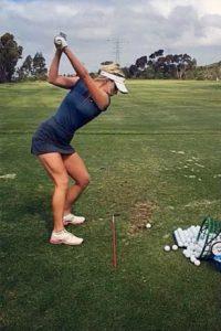Juega golf desde 2008 Foto:Vía instagram.com/_paige.renee/
