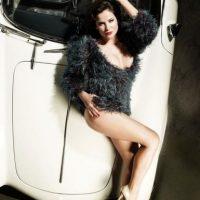 """La joven actriz que trabajaba con la pareja en la telenovela """"Tú y Yo"""" Foto:Playboy"""